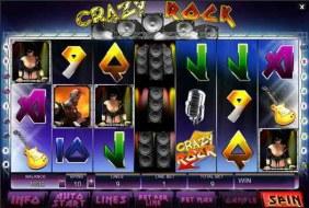 Crazy Rock Video Slot