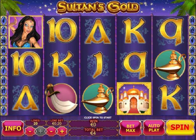 Sultan's Gold - Free Slot Machine Online - Play Game ᐈ PlayTech™