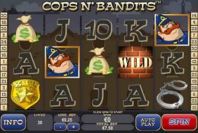 Nov 18, · Cops n'Bandits Online Slot Review.Crime based free slots are nothing new.Here is Cops N' Bandits slot from Playtech with high definition graphical suite.Satisfy your curiosity by hitting the reels.Maybe you land up with coins at best%(12).Bafra