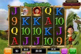 Aug 26, · Bounty of the Beanstalk is a five-reel 3D video slot with four rows of pictures on the screen.It is possible to play on the slot machine on one, ten, twenty, thirty, forty or fifty active lines.The scheme of their location is available on the page with the rules.The line bet is selected by the user from a range between one cent and ten euros.