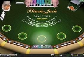 Blackjack Golden Edition
