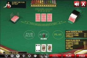 Трехкарточный Покер