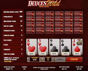 Deuces Wild by Playtech